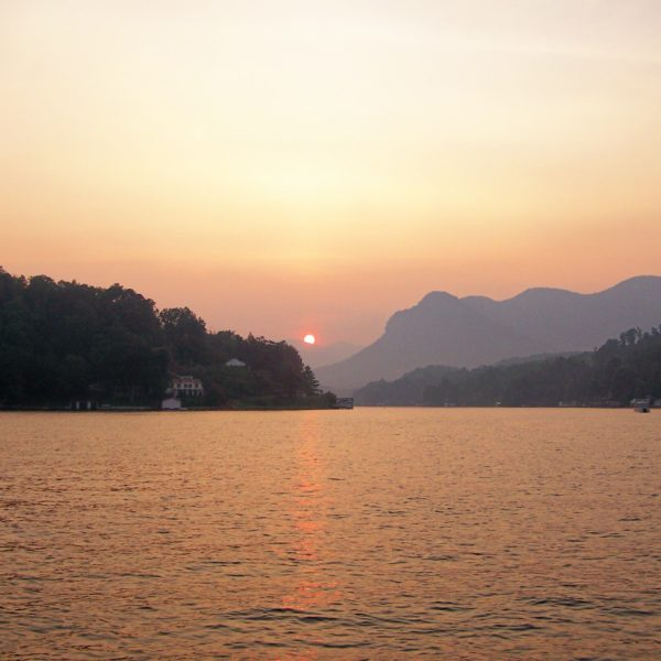 Sunset on Lake Lure